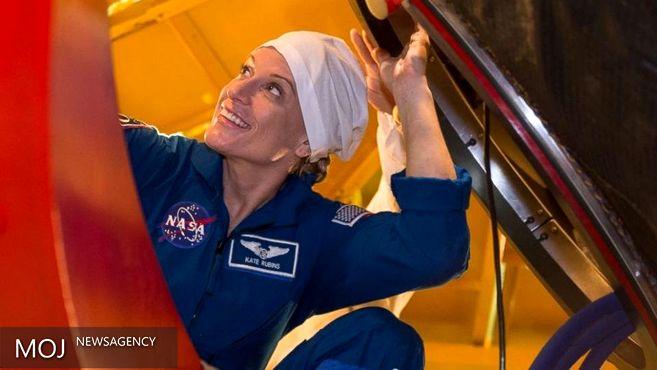 سفر فضانورد زن آمریکایی به فضا