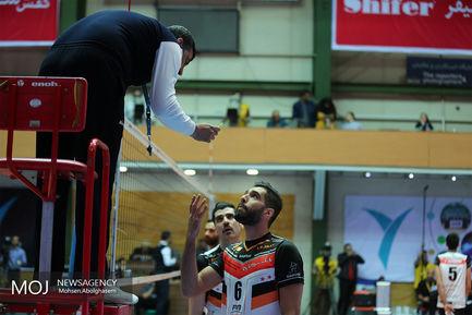 دیدار تیم های والیبال پیکان تهران و بانک سرمایه