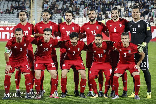 تیم ملی فوتبال ایران در رده ۳۴ جهان و نخست آسیا قرار گرفت