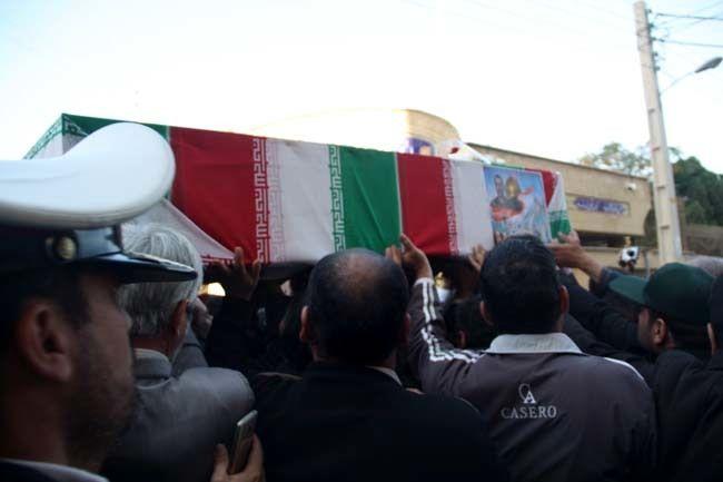 تشییع و خاکسپاری پیکر مطهر شهید عسکری جمکرانی در قم