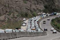 آخرین وضعیت ترافیکی جاده ها / جاده چالوس امشب بسته است