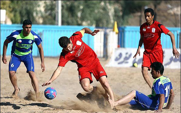 نتایج هفته بیست و یکم لیگ برتر فوتبال ساحلی