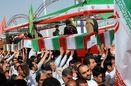 بازگشت پیکر پاک 75 شهید تازه تفحص شده از مرز شلمچه به وطن