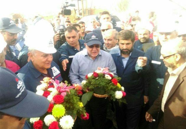وزیر نفت وارد خوزستان شد