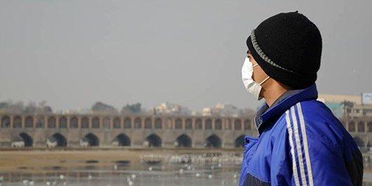 هوای اصفهان ناسالم برای گروههای حساس / شاخص کیفیت هوا 104