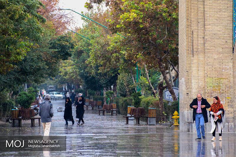 پیش بینی بارش باران در سراسر کشور