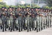 صبحگاه مشترک نیروهای مسلح برگزار شد