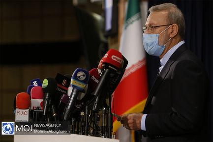 ثبت نام علی لاریجانی در انتخابات ریاست جمهوری ۱۴۰۰