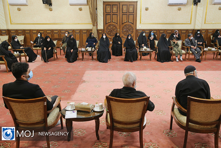 دیدار جمعی از خانواده های معظم شهدا با رییس قوه قضاییه