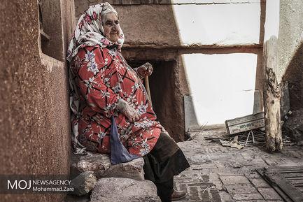 گشتی در روستای ابیانه