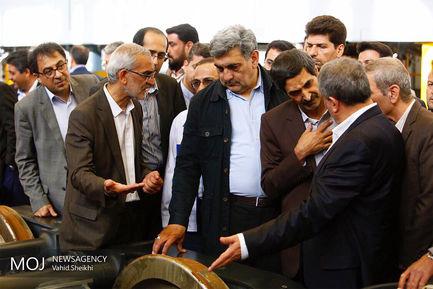 بازدید شهردار تهران از کارخانه واگن سازی