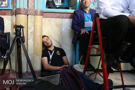 انتخابات در حسینیه ارشاد (2)