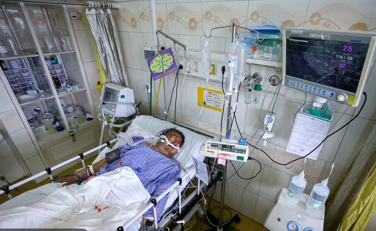 فوت 10 بیمار کرونایی طی 24 ساعت گذشته