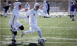 پیروزی بانوان فوتبالیست در دیدار با کراسنودار