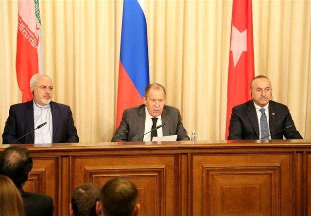 آنکارا میزبان وزرای خارجه ایران، روسیه و ترکیه