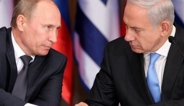 نخست وزیر رژیم صهیونیستی با پوتین دیدار کرد