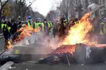 زخمی شدن 2 هزار و 891 نفر در اعتراضات جلیقه زردها