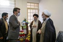 فرماندار بافق با امام جمعه جدید این شهرستان دیدار کرد