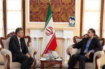 سفیر لبنان در تهران با امیرعبداللهیان دیدار کرد