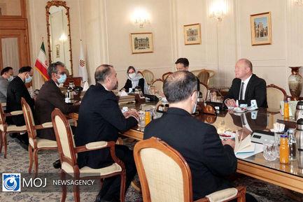 دیدار رییس مجلس شورای ملی سوییس با وزیر امور خارجه