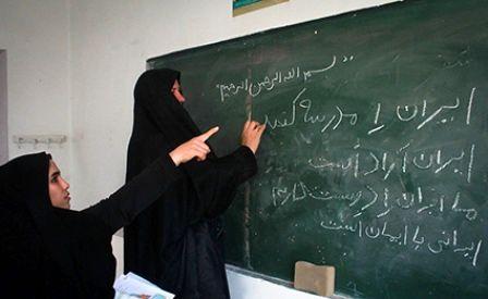 آموزش سواد آموزی به 80 درصد از اولیا در حمیل