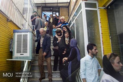 حضور مردم در مسجد الجواد میدان هفت تیر