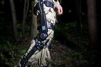 اسکلت عضلانی خارجی برای روشن کردن مسیر سربازان