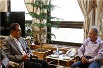 وزیر بهداشت به دیدار شهردار جدید تهران رفت