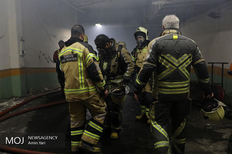 عمدی بودن آتش سوزی ساختمان شرکت برق حرارتی تکذیب شد