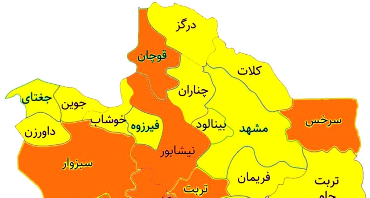 اجازه فعالیت به بیشتر مشاغل در مشهد با توجه به شرایط زرد کرونایی