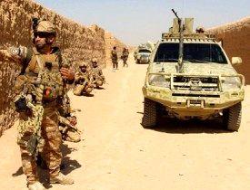 صدها کیلو مواد مخدر در افغانستان ناپدید شد