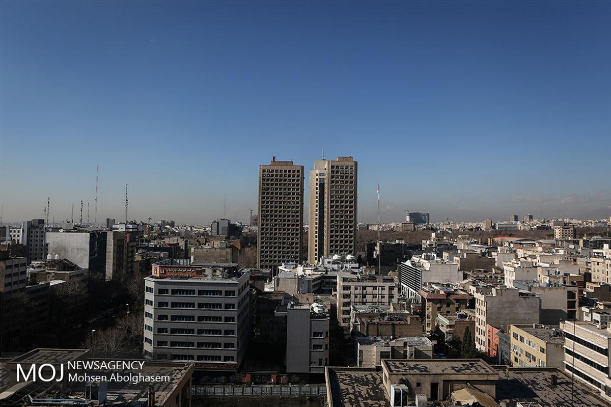 کیفیت هوای تهران ۱۹ مهر ۹۹/ شاخص کیفیت هوا به ۵۰ رسید