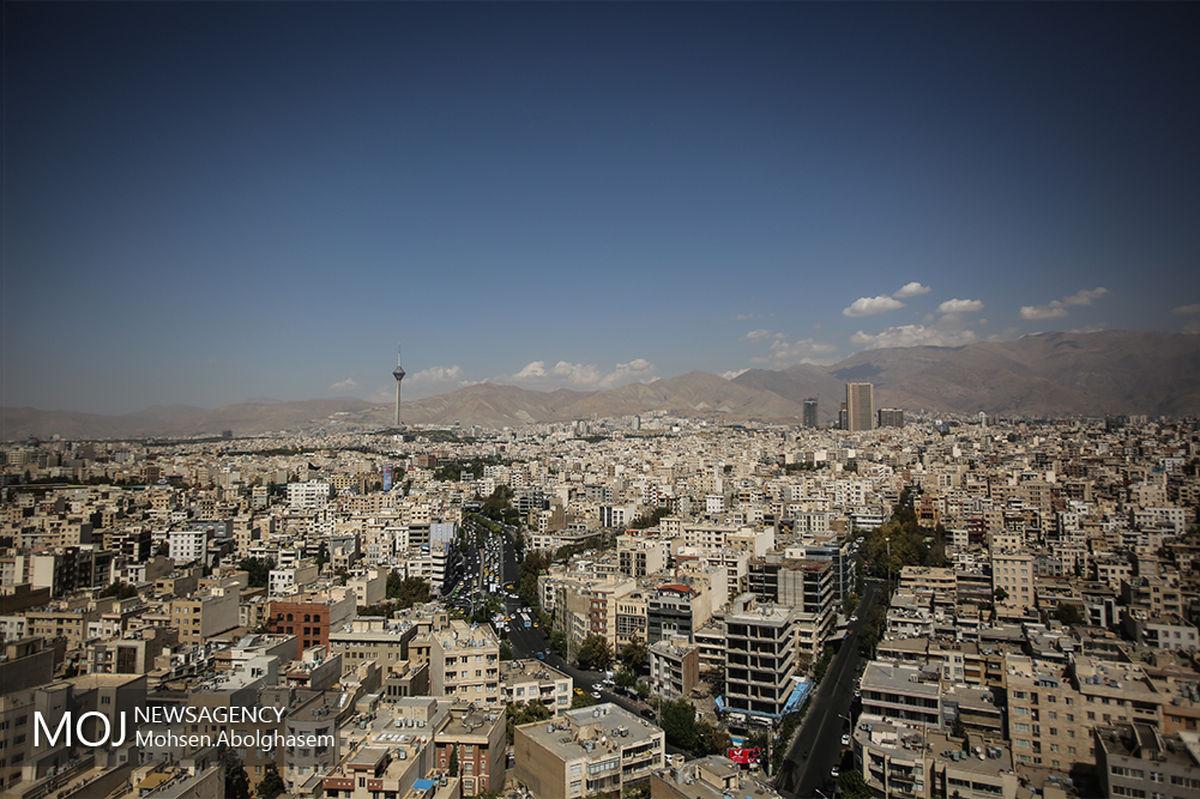 کیفیت هوای تهران ۲۵ آبان ۹۹/ شاخص کیفیت هوا به ۹۳ رسید