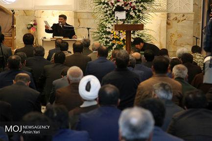 مراسم ختم والده سردار جلالی