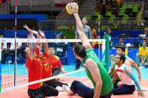تیم ملی والیبال نشسته ایران از سد آلمان گذشت