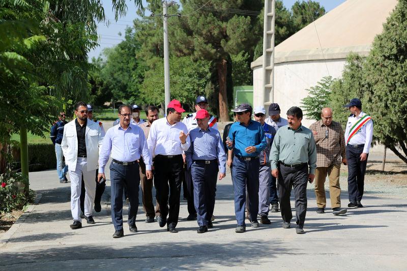 ارتقای تصفیه خانه فاضلاب جنوب اصفهان با تبدیل هواده های سطحی به عمقی