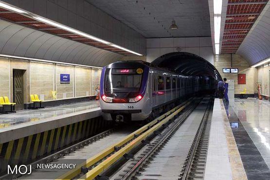 ورود ۴۳ واگن جدید به متروی تهران
