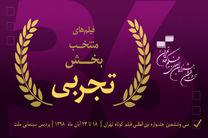 آثار تجربی جشنواره فیلم کوتاه تهران معرفی شد