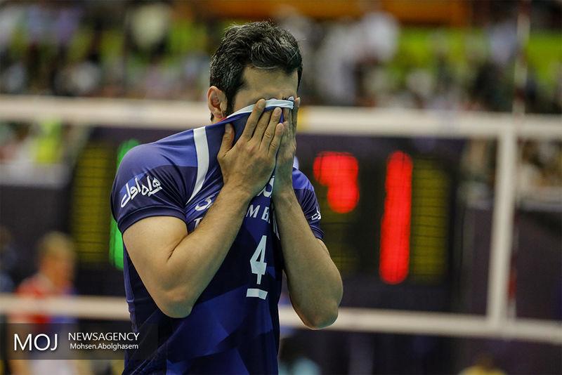 تیم ملی والیبال ایران از مسابقات جهانی ۲۰۱۸ حذف شد