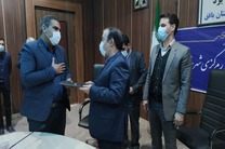 مراسم تکریم و معارفه بخشدار مرکزی شهرستان بافق برگزار شد
