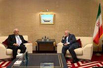دیدار و گفت و گوی مشاور امنیت ملی عراق با ظریف