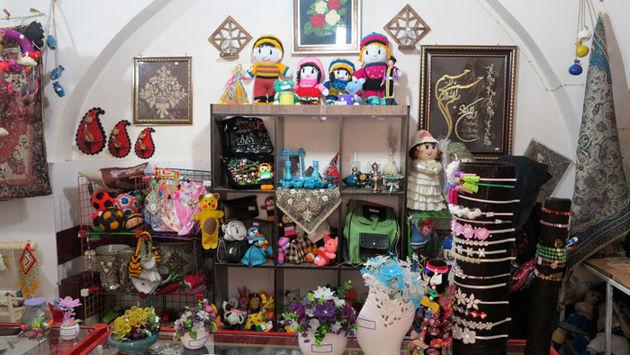 برگزاری نمایشگاه صنایع دستی کودکان نخاعی
