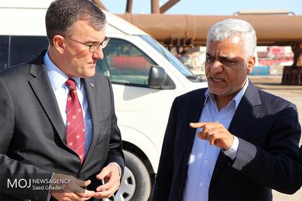 سفر سفیر استرالیا به بندرعباس