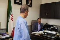 حضور محمدعلی نجفی در دفتر سرپرست دادسرا