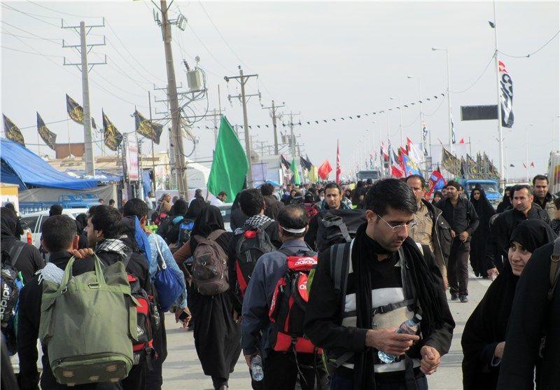 خدمات رسانی به 82 زائر مصدوم مسیر کرمانشاه در ایام اربعین امسال