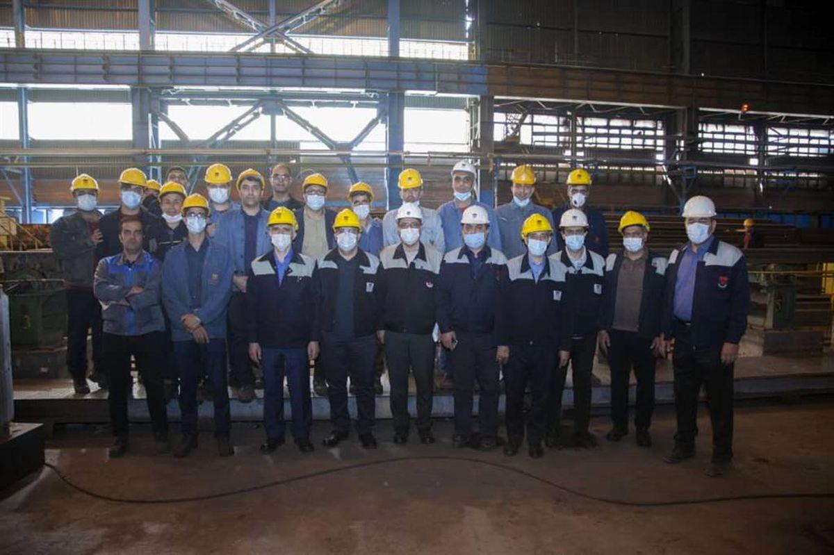 پشتیبانی و مانع زدایی از تولید ، ذوب آهن را به اهداف تولیدی می رساند