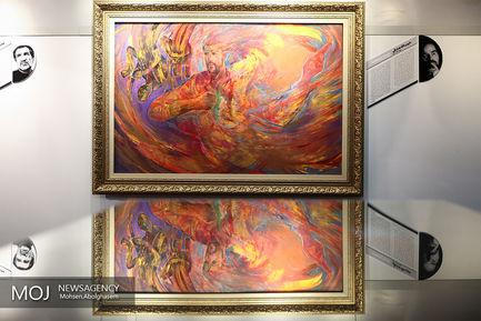 افتتاح نمایشگاه چهل سال نقش آفرینی