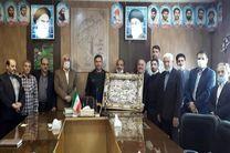 دیدار بسیج ورزشکاران با فرمانده جدید سپاه خمینی شهر