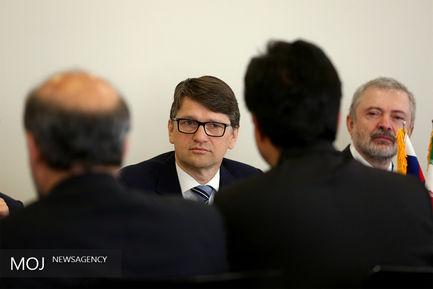 دیدار وزیر فرهنگ اسلواکی با صالحی امیری