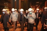 بازدید وزیر صمت از شرکت تعاونی فولاد کویر و سیما کاشی/ افتتاح و راه اندازی مجدد شرکت فاستونی اردستان پس از ۶ سال تعطیلی